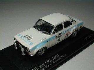 1/43 フォード エスコート I RS1600 RACラリー 優勝 1972 #4 R.Clark T.Mason<br>