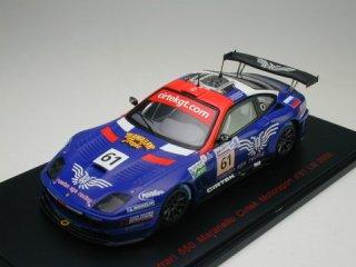 <img class='new_mark_img1' src='https://img.shop-pro.jp/img/new/icons20.gif' style='border:none;display:inline;margin:0px;padding:0px;width:auto;' />【半額特価】1/43 フェラーリ 550 マラネロ Cirtek Motorsport ル・マン24時間 2005 #61<br>