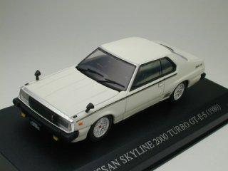 1/43 ニッサン スカイライン 2000ターボ GT 後期形 ホワイト<br>
