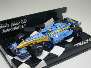 1/43 ルノー F1 チーム R25 2005 #6 G.フィジケラ<br>