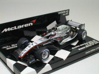 1/43 マクラーレン メルセデス MP4-20 イギリスGP 優勝 2005 #10 J.P.モントーヤ<br>