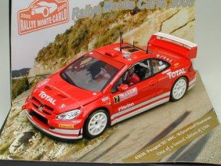 1/43 プジョー 307 WRC ラリーモンテカルロ 2005 #7 M.Gronholm T.Rautiainen<br>
