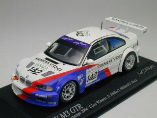 1/43 BMW M3 GTR スパ・フランコルシャン24時間 クラス優勝 2004 #142<br>