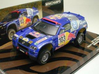 1/43 VW レース トゥアレグ ラリー・POR LA PAMPAS 優勝 2005 #103 Saby Perin<br>