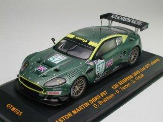 1/43 アストン・マーチン DBR9 セブリング12時間 GT1優勝 2005 #57<br>