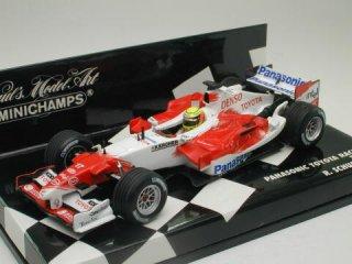 1/43 パナソニック トヨタ レーシング TF105 2005 #17 R.シューマッハ<br>