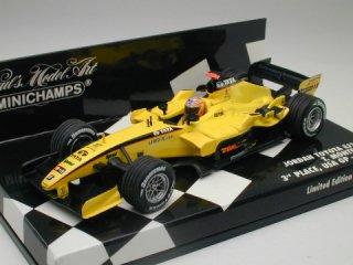 1/43 ジョーダン トヨタ EJ15 アメリカGP 3位 2005 #18 T.モンテイロ<br>