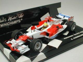 1/43 パナソニック トヨタ レーシング TF106 2006 #7 R.シューマッハ<br>