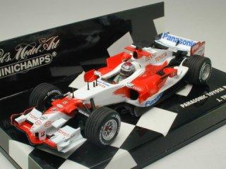 1/43 パナソニック トヨタ レーシング TF106 2006 #8 J.トゥルーリ<br>