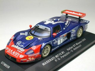 1/43 マセラティ MC12 Megu Drive Team イタリアGTミサノ 2005 #1<br>