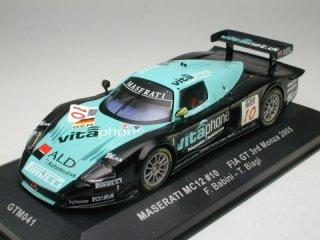 1/43 マセラティ MC12 Vitaphone FIA-GTモンツァ 3位 2005 #10<br>