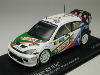 1/43 フォード フォーカス RS WRC ラリー・カタルニア 優勝 2004 #7 M.Maertin M.Park<br>
