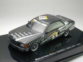 1/43 メルセデス・ベンツ 500 SEC (W126) AMG スパ・24時間 1989 #5<br>