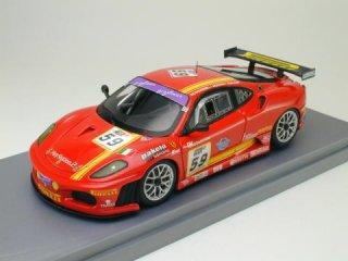 1/43 フェラーリ F430 GT Team A.F. Corse スパ24時間 2006 #58<br>