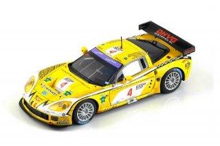 1/43 コルベット C6R GLPK Racing FIA-GT スパ・24時間 3位 2006 #4<br>