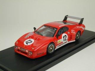 1/43 フェラーリ 512BB LM 富士6時間耐久レース 1982 #12<br>
