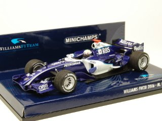 1/43 ウィリアムズ F1 チーム FW28 2006 #9 M.ウェバー<br>