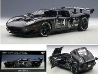 1/18 フォード GT LM スペックII テストカー グランツーリスモ カーボンブラック #4<br>