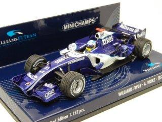1/43 ウィリアムズ F1 チーム FW28 テストドライバー 2006 #35 A.ヴルツ<br>