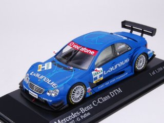 1/43 メルセデス・ベンツ Cクラス 'Laureus' AMG DTM 2007 #9 G.Paffett<br>