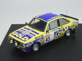 1/43 フォード エスコート Mk2 RS2000 1000湖ラリー 1979 #43 Kankkunen Hantunen<br>
