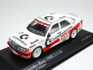 1/43 メルセデス・ベンツ 190E 2.3-16 'Commodore' DTM 1986 #9 F.Klammer<br>