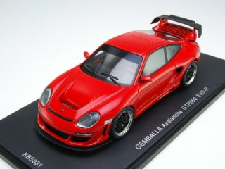 1/43 ゲンバラ アバランシェ GTR 650 EVO-R レッド<br>
