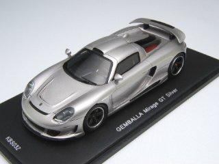 1/43 ゲンバラ ミラージュ GT シルバー<br>