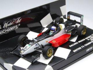 1/43 ダラーラ 無限 ホンダ F301 Runner-up British F3 2001 #5 A.Davidson<br>
