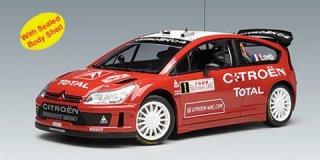 1/18 シトロエン C4 WRC ラリー・モンテカルロ 優勝 2008 #1 S.Loeb D.Elena<br>
