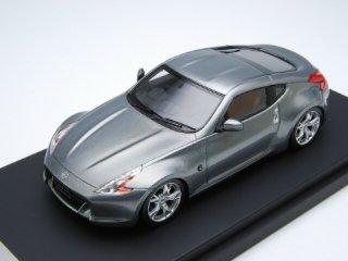 1/43 ニッサン フェアレディ Z Z34 2008 プレードシルバー<br>