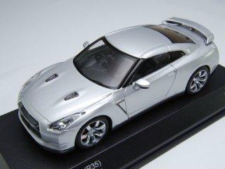 1/43 ニッサン GT-R (R35) 2008 アルティメイトシルバー<br>