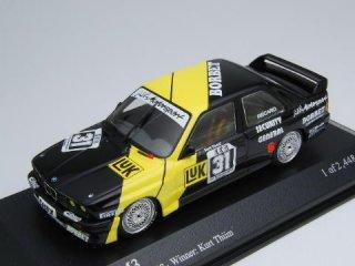 1/43 BMW M3 MK-Motorsport Eifelrennen DTM 優勝 1988 #31 K.Thiim<br>