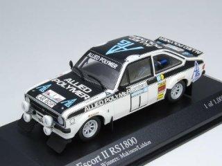 1/43 フォード エスコート II RS1800 RACラリー 優勝 1975 #1 T.Makinen Liddon<br>