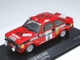1/43 フォード エスコート II RS1800 RACラリー 優勝 1976 #6 Clark Pegg<br>