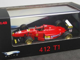 1/43 フェラーリ 412T1B ドイツGP 優勝 1994 #28 G.ベルガー<br>