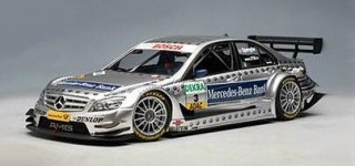 "1/18 メルセデス・ベンツ Cクラス ""Mercedes-Benz Bank"" DTM 2008 #3 B.Spengler<br>"