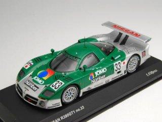 """1/43 ニッサン R390 GT1 """"JOMO Number"""" ル・マン24時間 10位 1998 #33<br>"""
