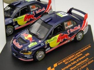 1/43 三菱 ランサー エボリューション IX PWRC アクロポリス・ラリー 優勝 2008 #41 A.Aigner<br>