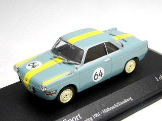 1/43 BMW 700 スポーツ ニュルブルクリンク12時間 1961 #64<br>