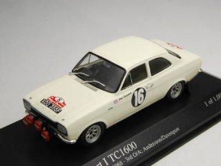 1/43 フォード エスコート I TC1600 ラリー・サンレモ 1968 #16 Andersson<br>