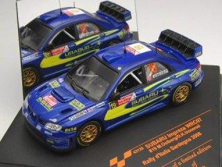 1/43 スバル インプレッサ WRC 07 ラリー・イタリア 2008 #19 M.Ostberg<br>
