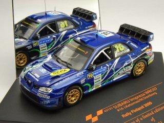 1/43 スバル インプレッサ WRC07 ラリー・フィンランド 2009 #16 J.Ketomaa<br>