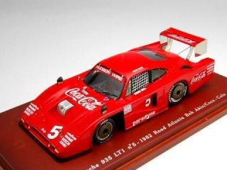 1/43 ポルシェ 935 LT1 コカ・コーラ ロードアトランタ500km 7位 1982 #5<br>