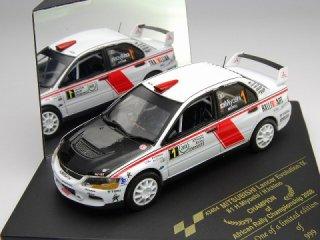1/43 三菱ランサーエボリューション IX アフリカンラリーチャンピオンシップ 2008 チャンピオン #1 三好秀昌<br>