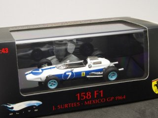 1/43 フェラーリ 158 F1 NART メキシコGP 2位 1964 #7 J.サーティース<br>
