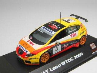 1/43 セアト レオン TDI WTCC 2009 #5 T.Monteiro<br>