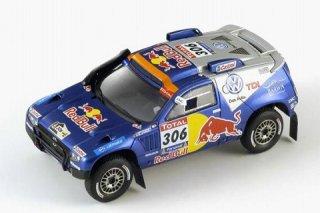 1/43 VW トゥアレグ ダカールラリー 2位 2010 #306 N.AL-Attiyah<br>