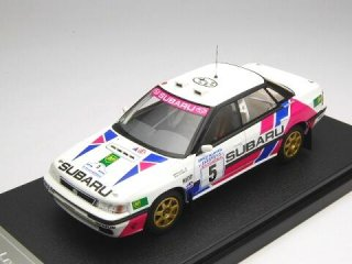 1/43 スバル レガシィ RS アクアポリス・ラリー 1990 #5 M.Alen<br>