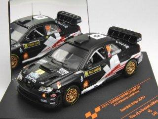 1/43 スバル インプレッサ WRC07 スウェーデン ラリー 8位 2010 #15 M.Ostberg<br>